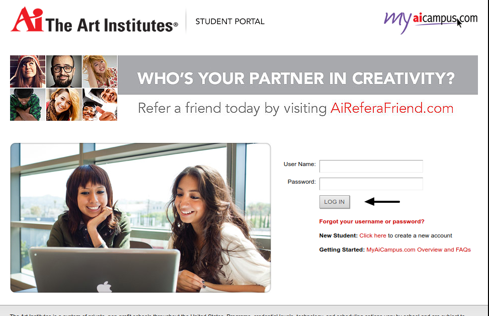 Art Institutes Login