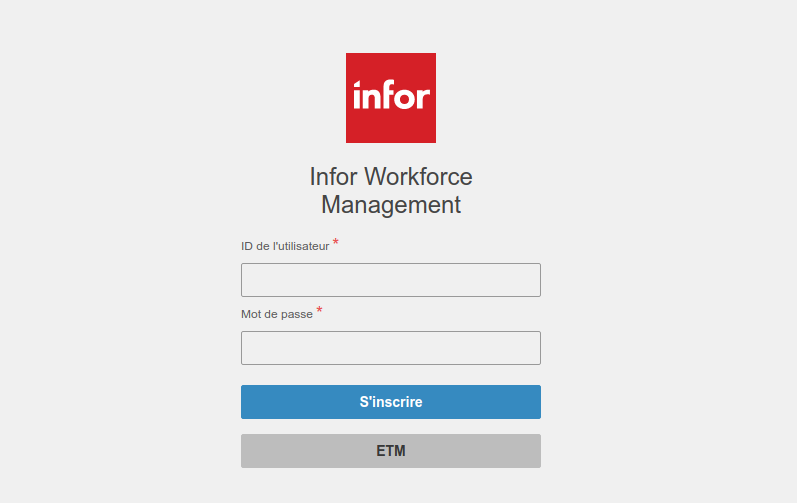 Workforce Management Login