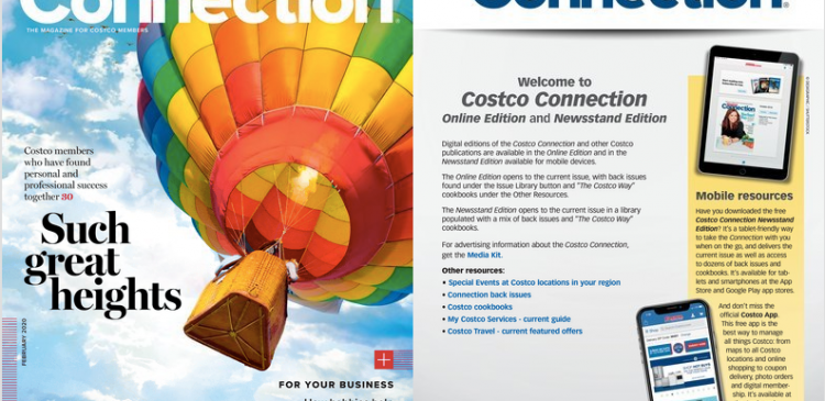 The Costco Connection Logo