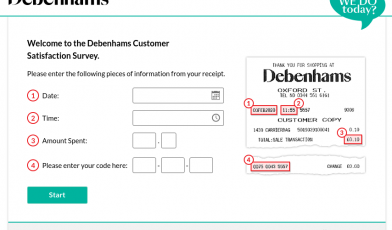 Debenhams Survey
