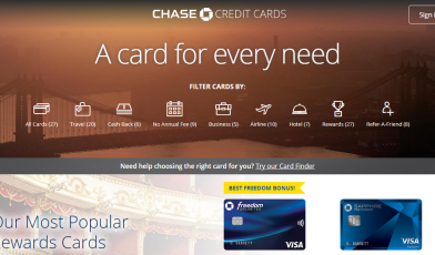 Best Chase Credit Cards of 2020