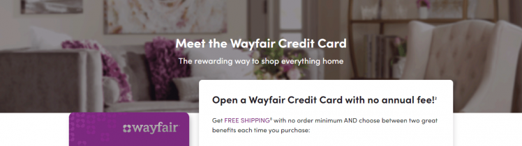 How to Apply Wayfair Credit Card Account