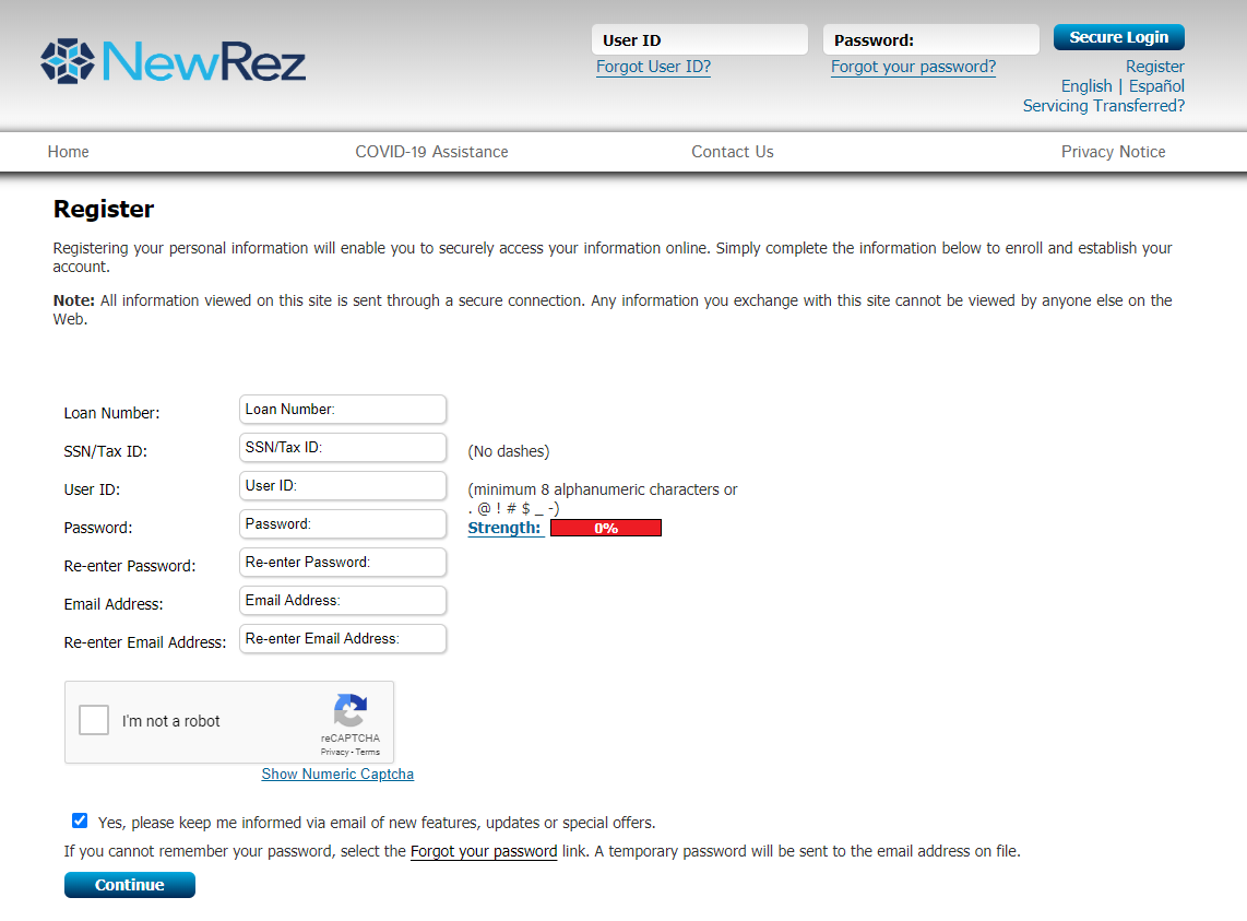 How to Pay NewRez Loan Payment