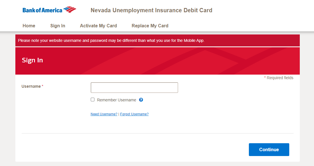 How to Sign In at Bank of America NEVADA Online Portal