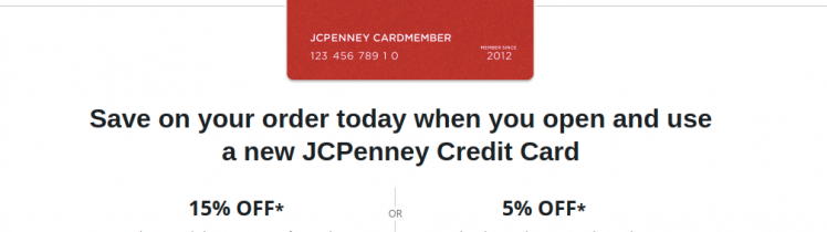 JCPenney Credit Card Logo