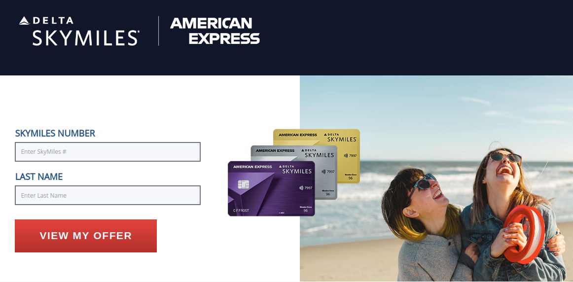 SkyMiles Amex Card Offer