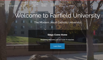 Fairfield University portal